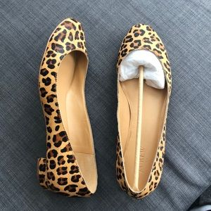 J. Crew Leopard Print Shoes
